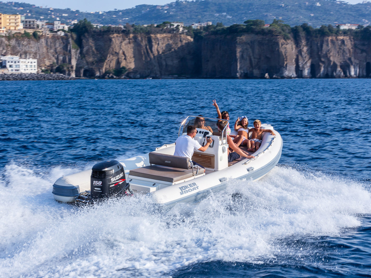 JOKER BOAT 5.60 | Mar Amar boat tour Sorrento