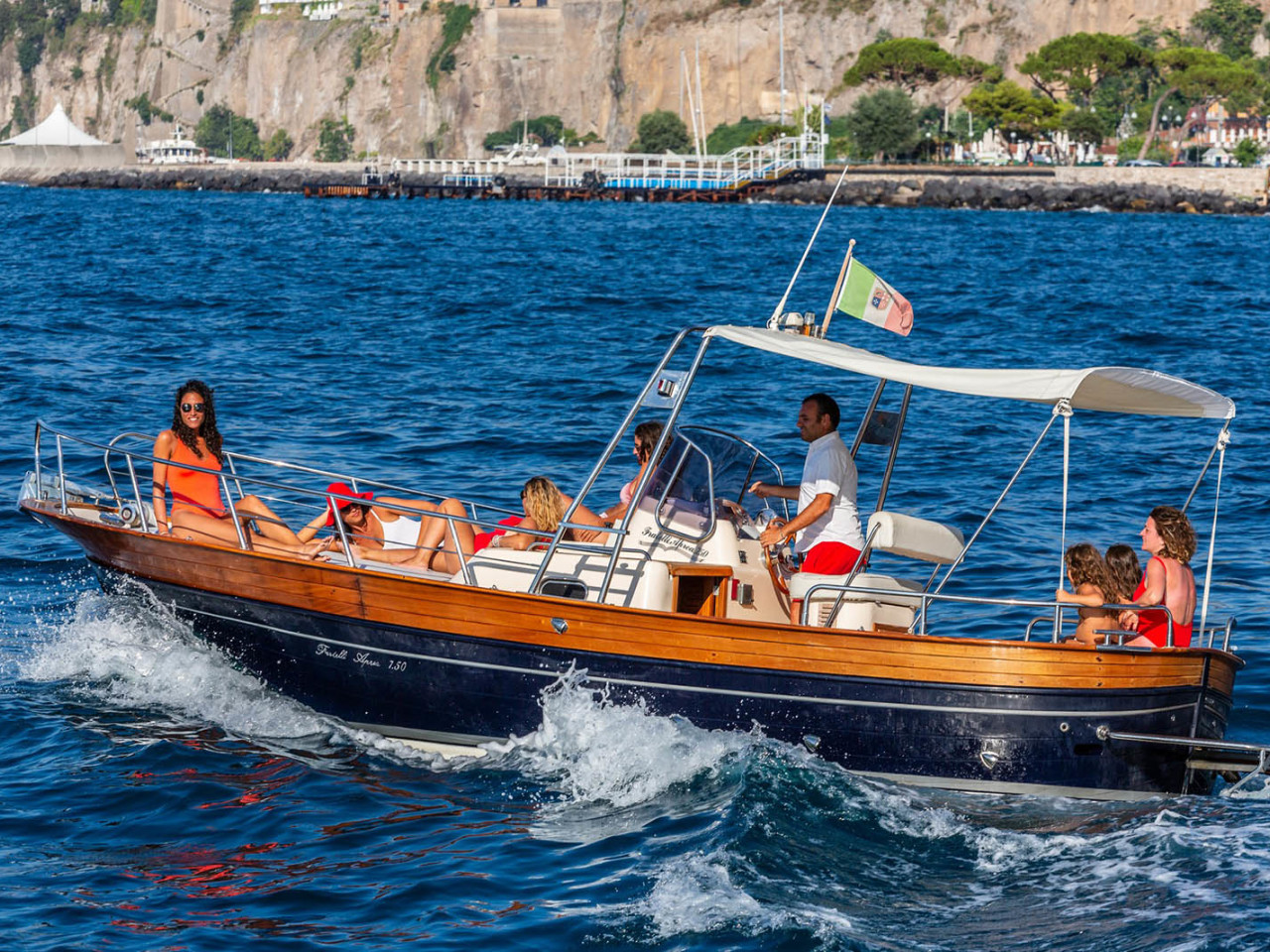 FRATELLI APREA 750 | Mar Amar boat tour Sorrento