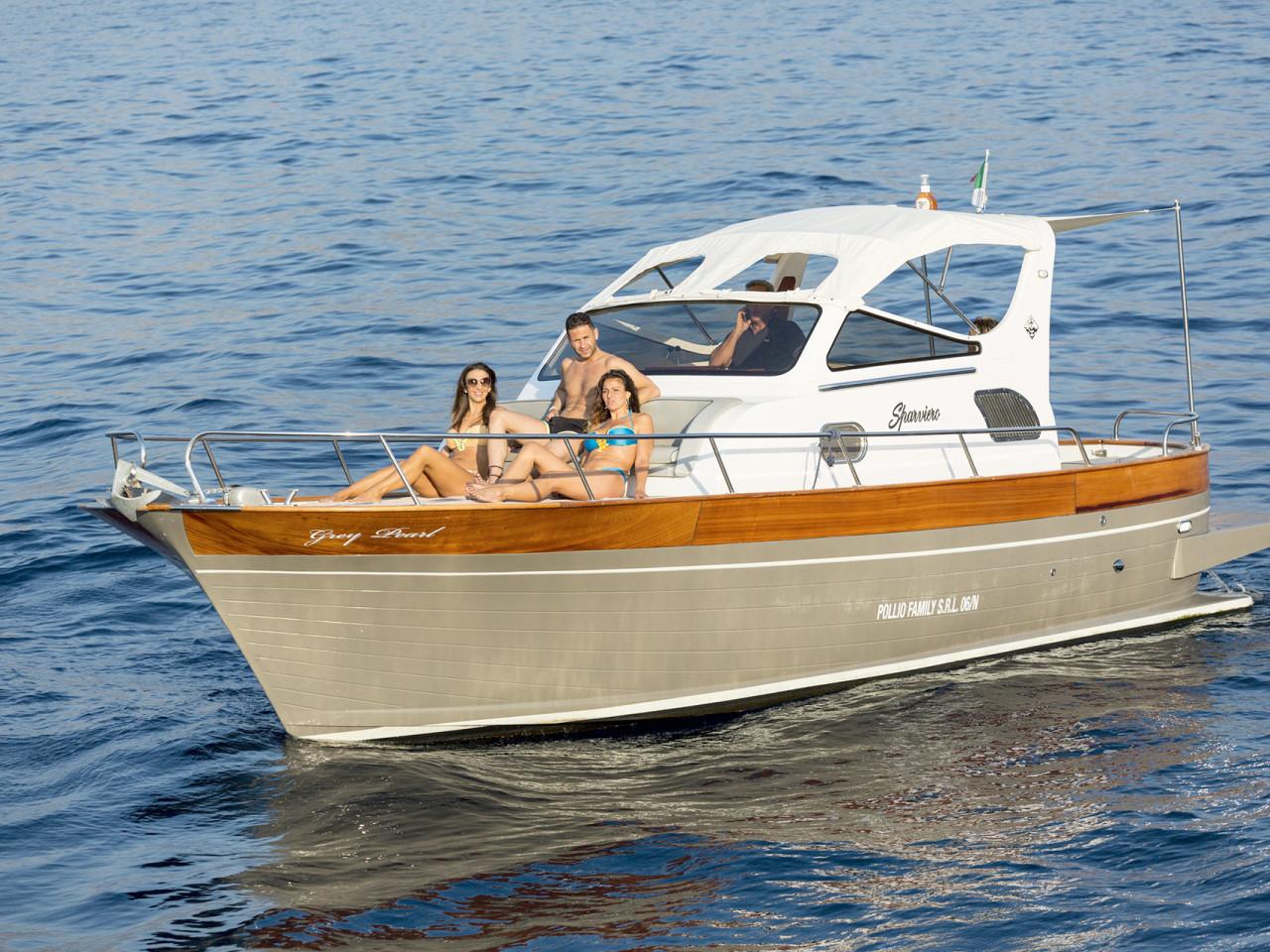 SPARVIERO 850 GREY PEARL | Mar Amar boat tour Sorrento