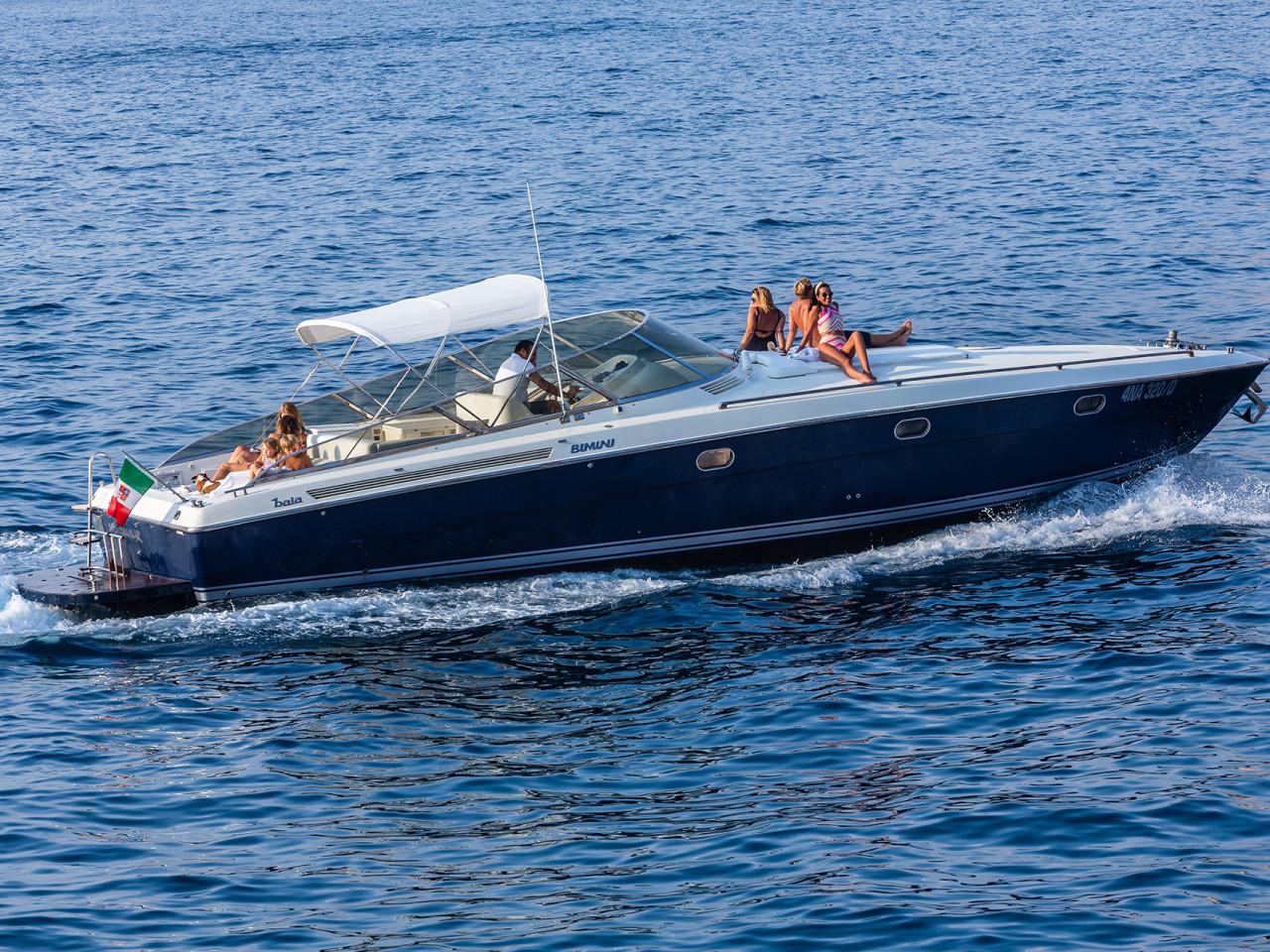 YACHT BAIA BIMINI | Mar Amar Sorrento boat tour